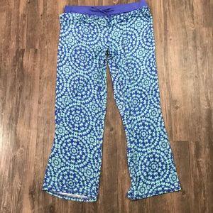 Echo Sleepwear Lounge Seashell Crab Pants